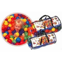 Мячики шарики 100 штук для сухого бассейна Intex 49602 (6,5 см)