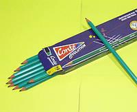 Карандаши простые  с резинкой Conte HB№2, 12шт