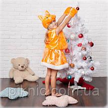 Костюм Белочка Белка для девочки 3,4,5,6,7 лет. Детский карнавальный новогодний костюм, фото 3