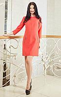 Стильное женское платье с завышеной талией