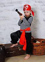 Детский карнавальный костюм Пират 7-9 лет. Детский новогодний маскарадный костюм на Новый Год