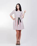 Модное платье с широким двухсторонним поясом, фото 1