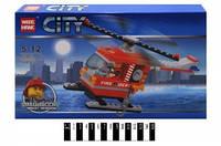"""Конструктор """"City"""" Пожарный вертолет """" 82003"""