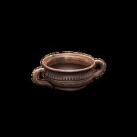 Бульонница глиняная Шляхтянская AF05 Покутская керамика  0,25 литра