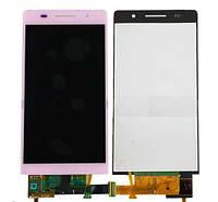 Дисплейный модуль для Huawei Ascend P6-U06 (Pink) Original
