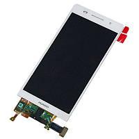 Дисплейный модуль для Huawei Ascend P6-U06 (White) Original