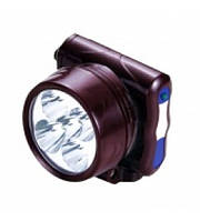 Налобный фонарик аккумуляторный 5 светодиодов YJ-1829-5