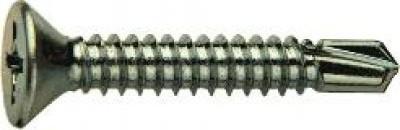 Саморез по металлу с потайной головкой с буром DIN 7504Р (3,5Х19)