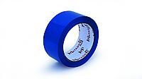 Скотч упаковочный цветной (синий), 48 мм*100 м