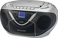 Магнитола-бумбокс AEG 4326 (читает касеты и диски MP3 + радио)
