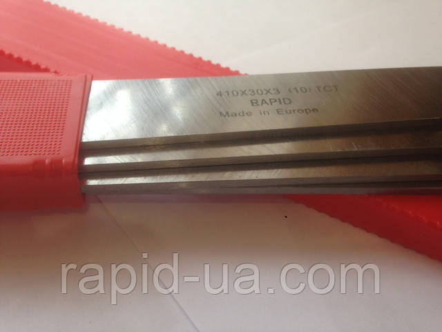 Строгальный( фуговальный ) нож  с твердосплавной напайкой 350*30*3 Tigra Germany