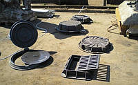 "Люк чугунный тяжёлый ""Т""   25т. (108 кг) (Ø кр. 645, осн. 870, h-120)"