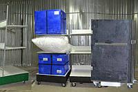 Система складских роботов-тележек - эффективная альтернатива громоздким и дорогим конвейерам