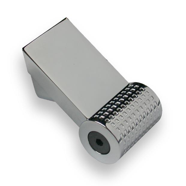Ручка  мебельная hi-tech  SIR1691-109ZN1 хром глянец  16 мм, фото 1