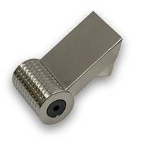 Ручка  мебельная hi-tech  SIR1691-109ZN21 сталь полированная inox  16 мм, фото 1