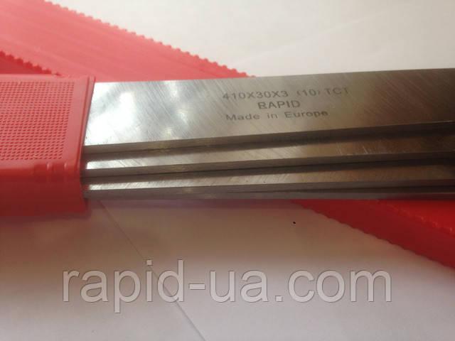 Строгальный( фуговальный ) нож  с твердосплавной напайкой 410*35*3 Tigra Germany