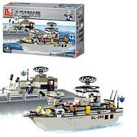 Конструктор Sluban M38-B0122 Военный корабль, 449 деталей