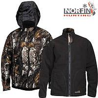 Куртка флисовая NORFIN Hunting Thunder Staidness/Black - XXXL