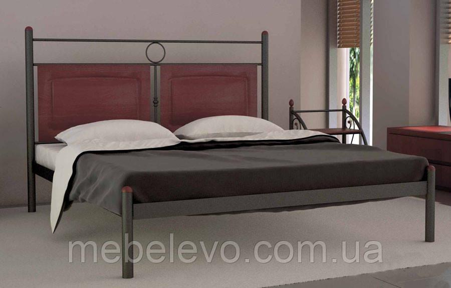 купить кровать двуспальная николь 180 металл дизайн в украине