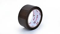 Скотч упаковочный цветной (коричневый), 48 мм*100 м