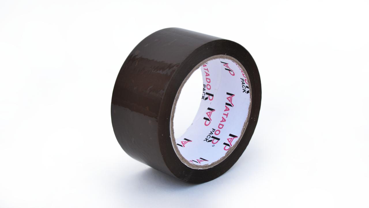 Скотч упаковочный цветной (коричневый), 48 мм*100 м - ФОП Королев А. А. в Полтаве