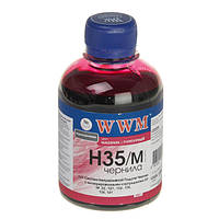 Чернила wwm для hp №22/134/121 200г magenta Водорастворимые (h35/m) для СНПЧ