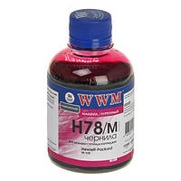 Чернила wwm для hp №178 200г magenta Водорастворимые (h78/m)