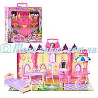 """Игровой набор замок принцессы """"Клубничка"""" с мебелью: 29 аксессуаров"""