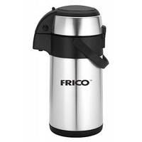 Термос помповый со стальной колбой FRICO-248 (4,0л.)