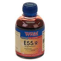 Чернила wwm для epson stylus photo r800/r1800 200г red Водорастворимые (e55/r) с повышенной светостойкостью
