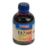 Чернила wwm для epson stylus photo r1900/r2000 200г matte black Водорастворимые (e87/mb) с повышенной светостойкостью