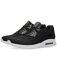 Оригинальные  кроссовки Nike W Air Max 90 Ultra Plush Black & White