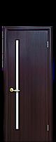 """Двери межкомнатные """"Новый Стиль-Глория"""" венге"""