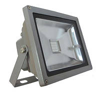Прожектор LED_Alfa_20W_6500К_сірий_RGB_контролер