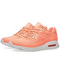 Оригинальные  кроссовки Nike W Air Max 90 Ultra Plush Atomic Pink & Summit White