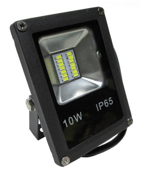 Прожектор LED_Alfa_SMD_10W_6500К_чорний