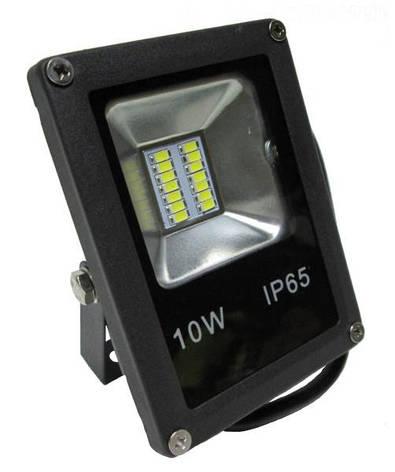 Прожектор LED_Alfa_SMD_10W_6500К_чорний, фото 2
