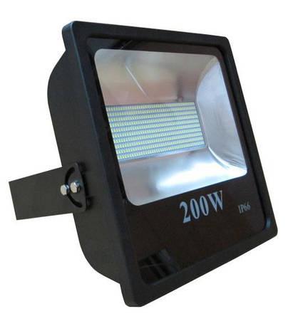 Прожектор LED_Delta_200W_6500К_чорний, фото 2