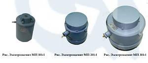 Электромагниты МП101, МП-102, МП-103