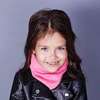 Теплый снуд-шарфик для девочек - в розницу - весна-осень - Артикул ХД-1, фото 1