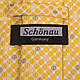 Оригинальный мужской широкий галстук SCHONAU & HOUCKEN (ШЕНАУ & ХОЙКЕН) FAREPS-40 желтый, фото 3