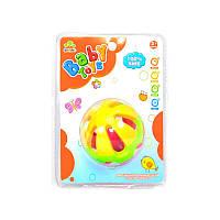 Детская погремушка шар с шариками