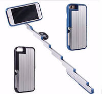 Stikbox 3 в 1 - селфи-палка чехол подставка монопод + пульт Bluetooth для Iphone 6+
