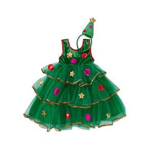 Очень красивое новогоднее платье Ёлочка, фото 2