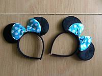 Ушки Минни Маус голубые