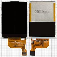 Дисплей для мобильного телефона Fly E210, оригинал, 24 pin, #6600631000YXT24MH088-A