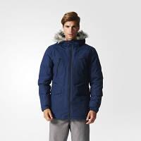 Мужская зимняя парка Adidas Filled Fur-Trim (Артикул: AP9550)