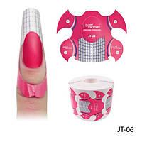 Lady Victory   JT-06 Формы для ногтей 500 шт