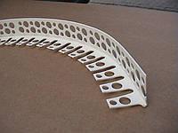 Наугольник арочный пластик. 25х25 3м