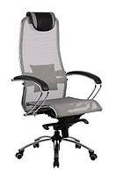 Кресло для руководителя Samurai S1 Grey, фото 1